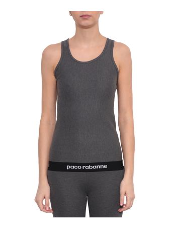 Paco Rabanne Jersey Cotton Tank Top