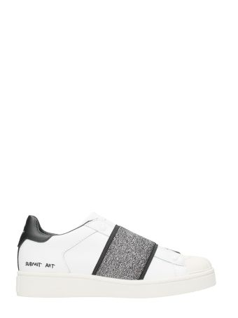 M.O.A. master of arts Black Elastic Band Slip-on Sneakers