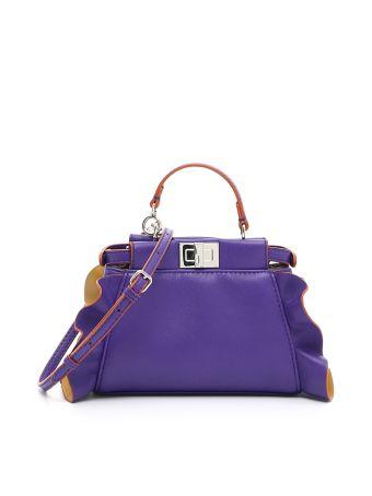 Nappa Micro Peekaboo Bag