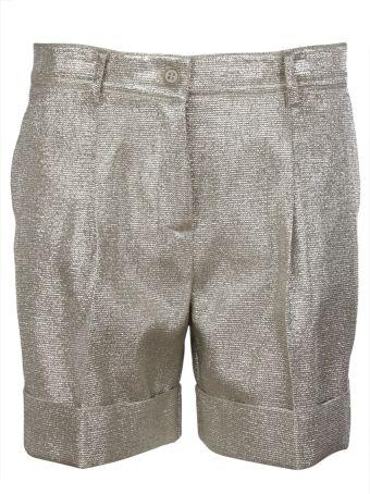 Parosh Lurex Shorts