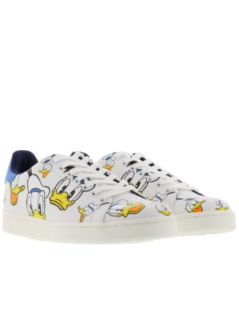 M.o.a. Donald Duck All Over Faces Sneakers