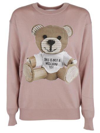Moschino Bear Jersey Dress