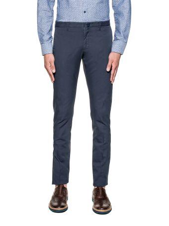 Blue Slim Trousers