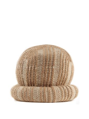 Marc Jacobs Wool And Cashmere-blend Oversized Hat