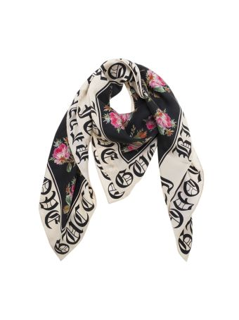 Gucci Blooms Print Scarf