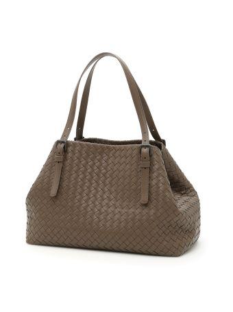 Woven Nappa Shopping Bag