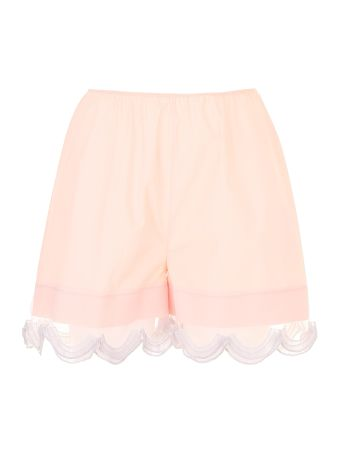 Compact Poplin And Cigaline Shorts