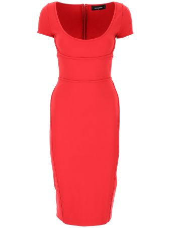 Jersey Sheath Dress