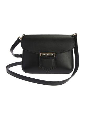 Leather Nobile Mini Crossbody Bag