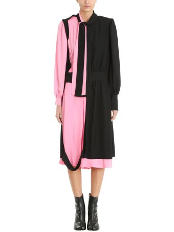 Maison Margiela Asymmetric Panelled Shirt Dress