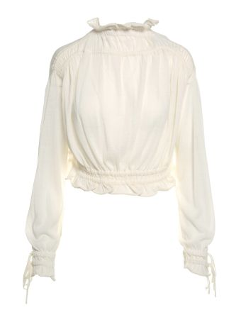 3.1 Phillip Lim High-neck Wool-blend Top