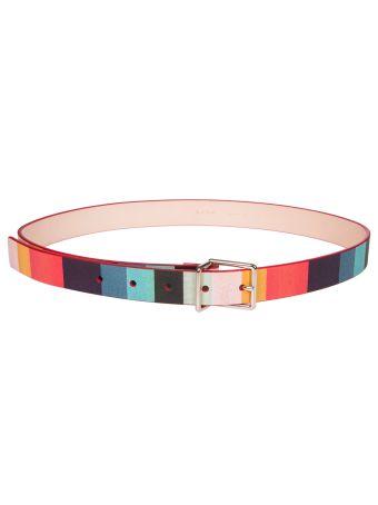 Paul Smith Striped Belt