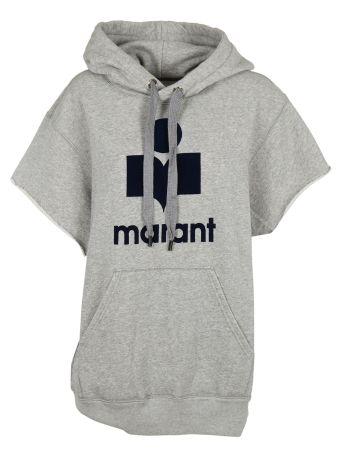 Isabel Marant Logo Print Hoodie