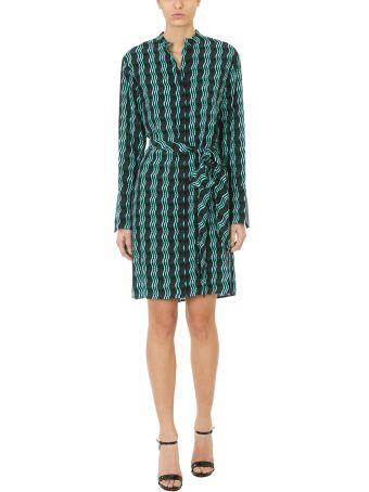 Diane Von Furstenberg Long-sleeved Shirt Dress