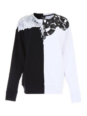 Printed Bicolor Sweatshirt