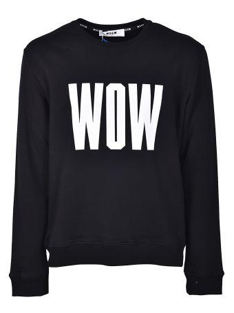 Msgm Wow Sweatshirt