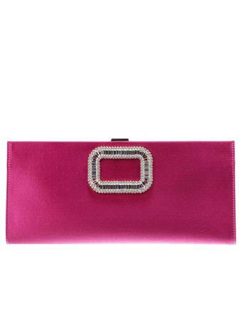 Clutch Handbag Woman Roger Vivier