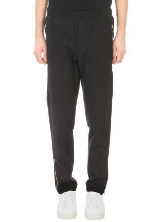 Stella McCartney Black Cotton Casual Pants