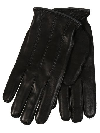 Restelli Deer Gloves With Vertical Cords