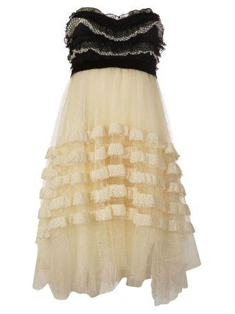 Philosophy Di Lorenzo Serafini Ruffle Trimmed Dress