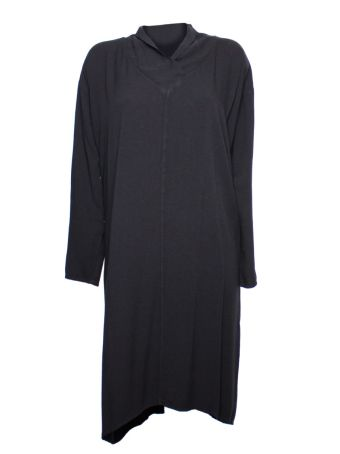 Altalana 100% Viscose High Crossed Neck H-Line Dress