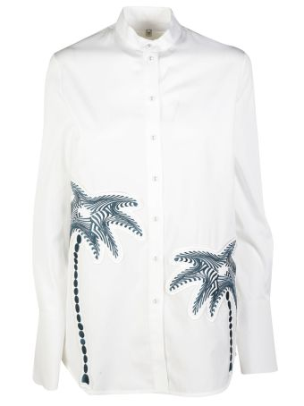 Victoria Beckham Palm Tree Shirt