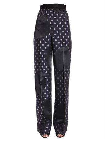 Polka Dot Organdie Trousers