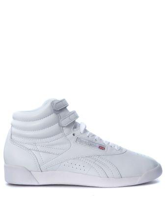 Reebok Freestyle Hi Og Lux White Leather Sneaker