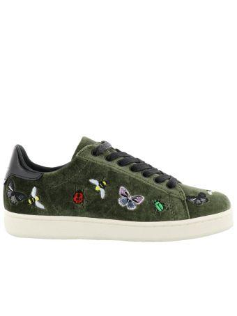M.o.a. Bugs Velvet Sneakers