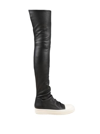 Rick Owens Leather Cuissardes