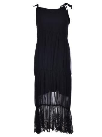 Federica Tosi Lace Trim Dress