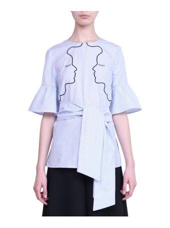 Vivetta Port Pire Popelin Cotton Shirt