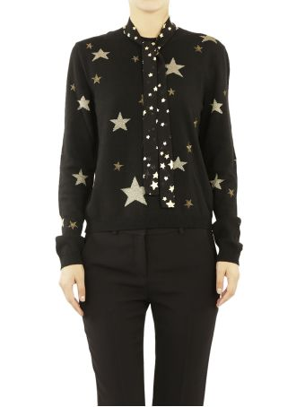 Red Valentino Star Patterned Sweater