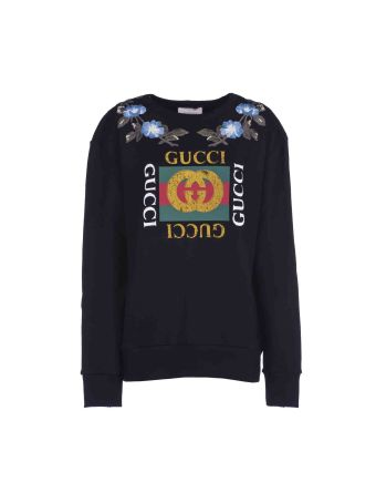 Gucci Gg Floral Sweatshirt