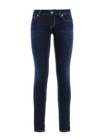 Lambda Low Waist Skinny Fit Jeans