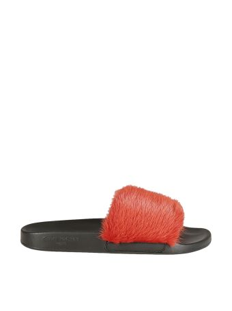 Givenchy Givenchy Fur Sliders