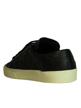 Black Stars Low Sneakers