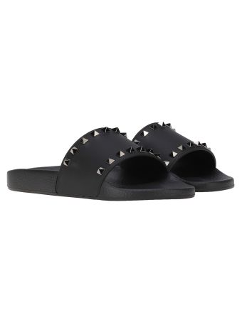 Valentino Garavani Studs Slippers