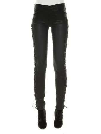 J Brand Maria High Rise Skinny With Ss Lacing