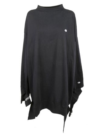Vetements Champion Oversized Jersey Dress