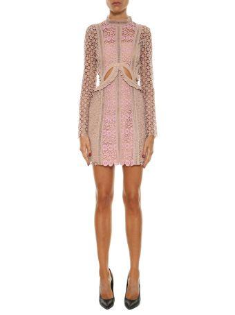 Self-portrait Payne Cut Out Mini Dress