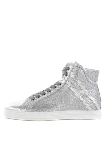Hogan Rebel Glitter Panel Sneakers