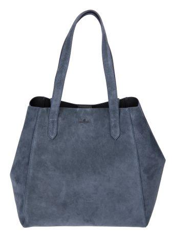 Hogan Embossed Logo Shopper Bag
