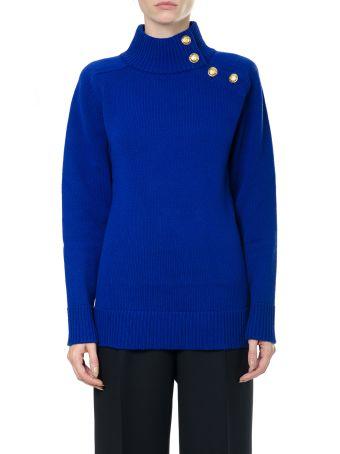 Lanvin Embellished Wool Jumper