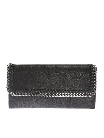 Faux Leather Falabella Wallet