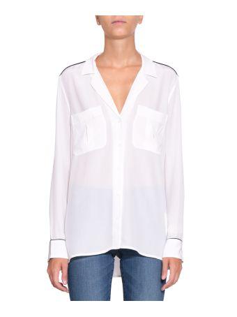 Equipment Silk Pajama Shirt