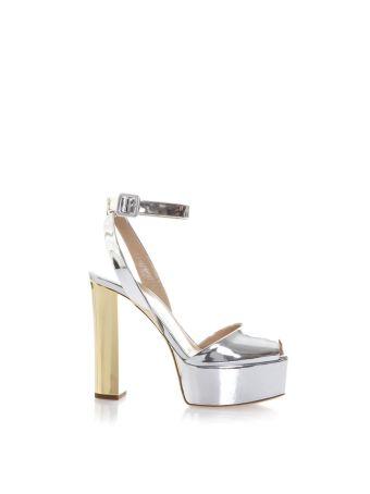 Giuseppe Zanotti Betty Metallic Leather Sandals