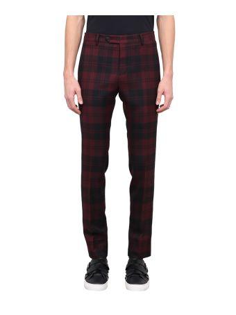 Valentino Check Wool Pants