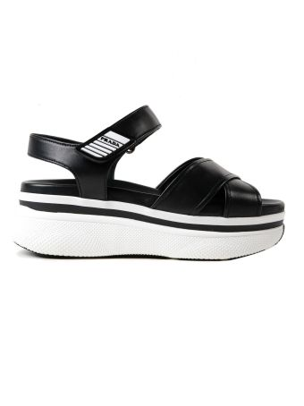 Prada Vitello Soft Sandal 55mm
