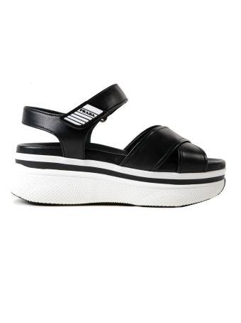 Prada Vitello Soft Sandal 55mm